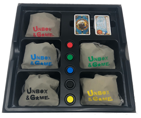 Ticket to Ride Game Piece Bags