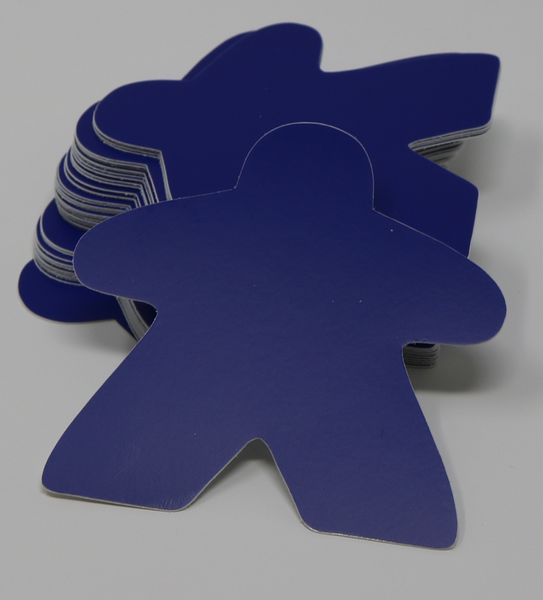 Blue Meeple Sticker