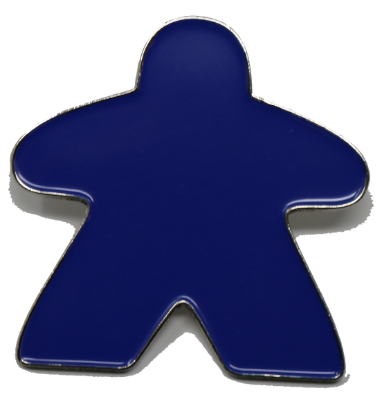 Blue Meeple Pin
