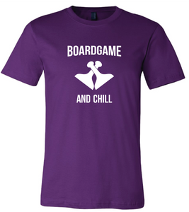 Board Game and Chill Short Sleeve T-Shirt