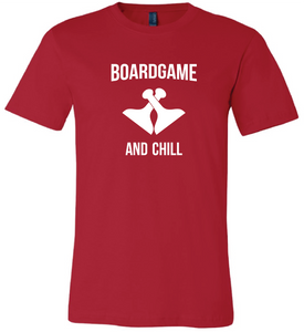 Board Game and Chill Short Sleeve Tee