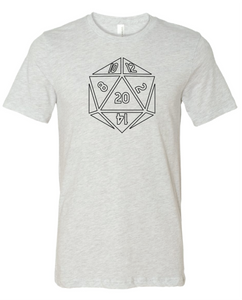 D20 Board Game T Shirt