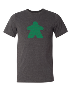 Green Meeple Board Game T Shirt