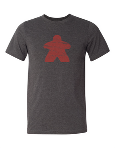 Red Meeple Board Game T Shirt
