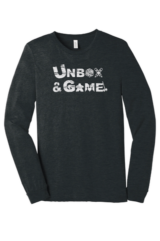 Unbox & Game Board Game T-Shirt  Long Sleeve