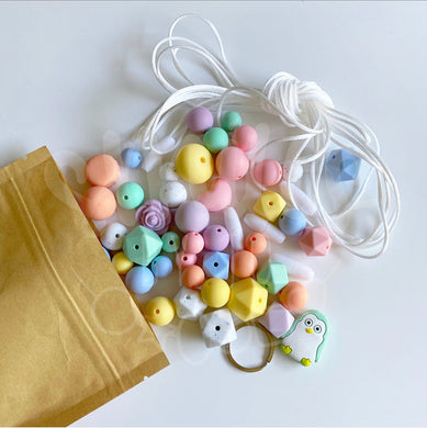 Mini Maker Beading Kit - Pastel Rainbow