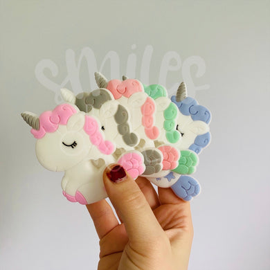 Silicone Teether - Sleepy Unicorn