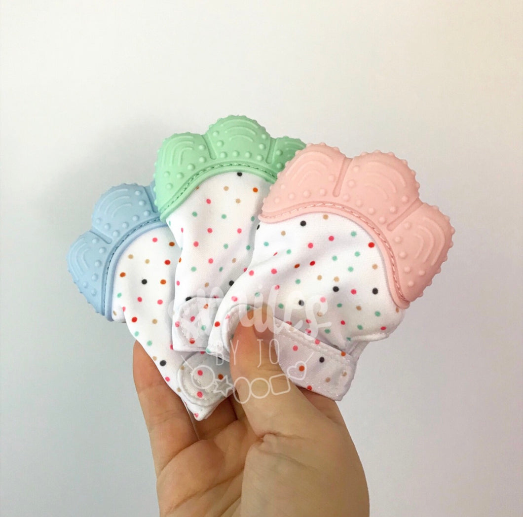 Teething Mittens - Smiles By Jo