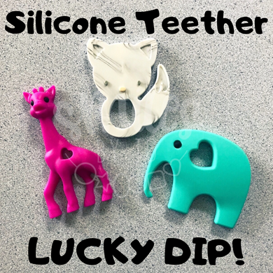 Silicone Teether Shape LUCKY DIP!