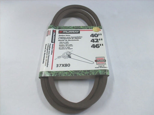 Genuine Murray 037X80MA Mower Motion Drive Belt Replaces 37X80 37X80MA OEM
