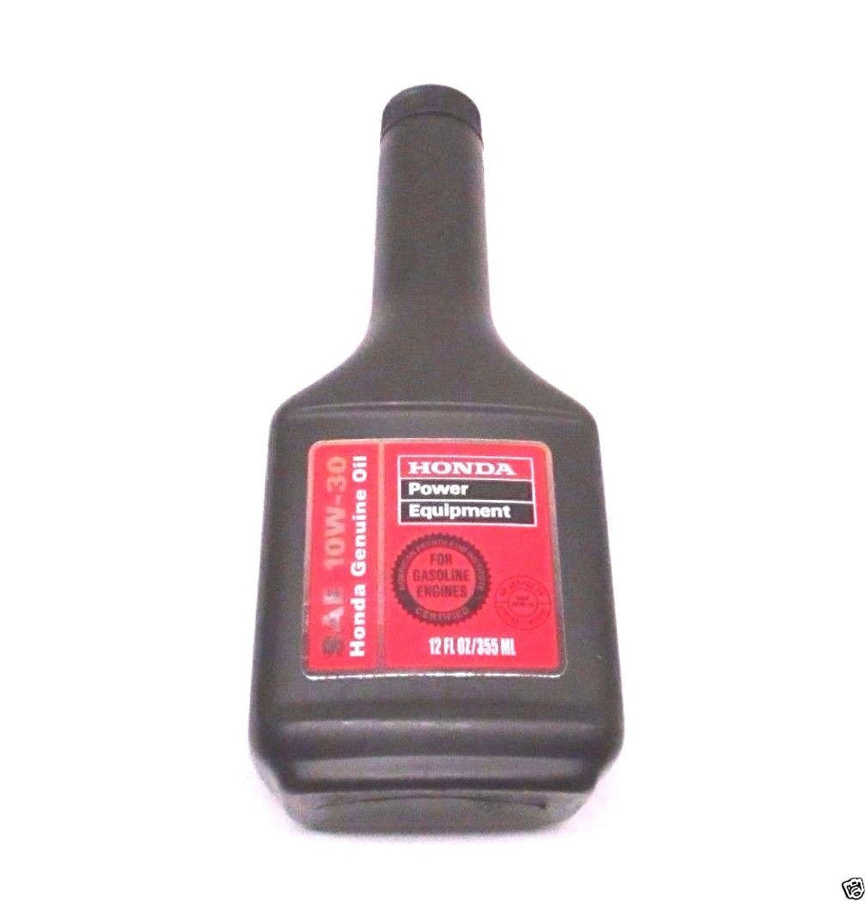 Genuine Honda 08213-10W30 12 Ounce Bottle SAE 10W30 Oil 355 ML OEM