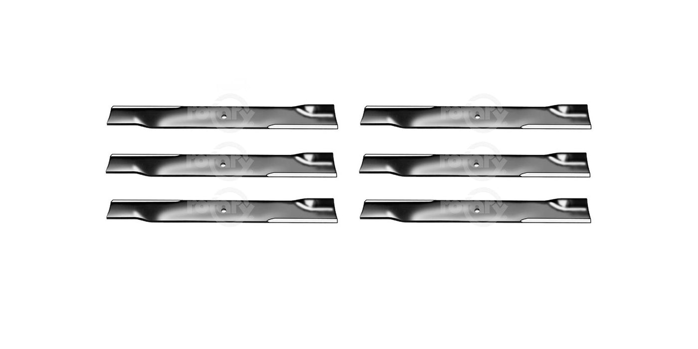 6 Pack High-Lift Mower Blades Fits Exmark 1-303527 103-1578-S 1031578