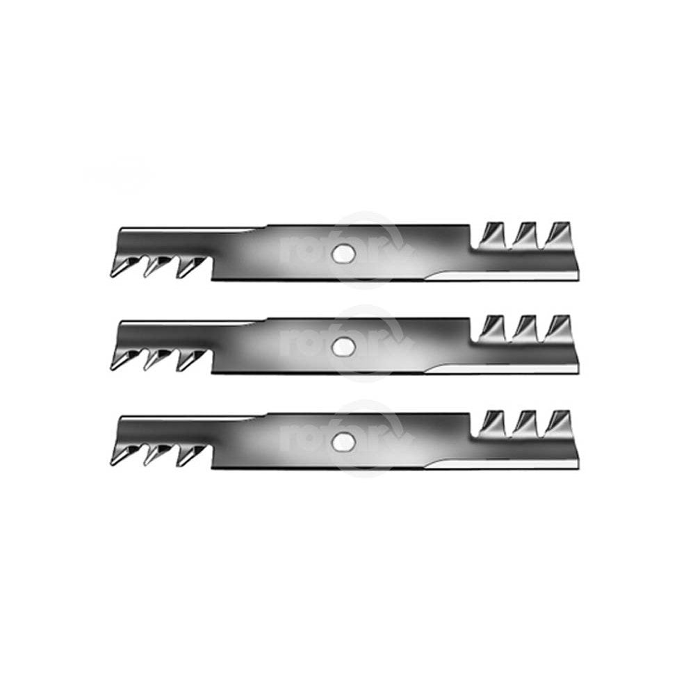 3 Pack Commercial Mulching Blades Fits Exmark 103-6397 103-6397S 116-5175S