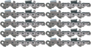 10 Pack Oregon 11BC063E 11BC Harvester Chipper Chain 3/4""