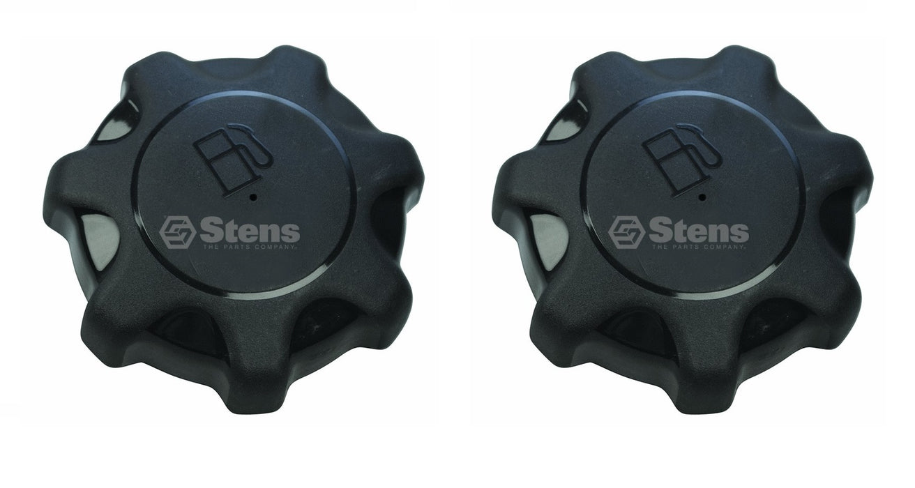 2 Pack Stens 125-183 Fuel Gas Cap for John Deere AM137724 X300-X724 Z225-Z465