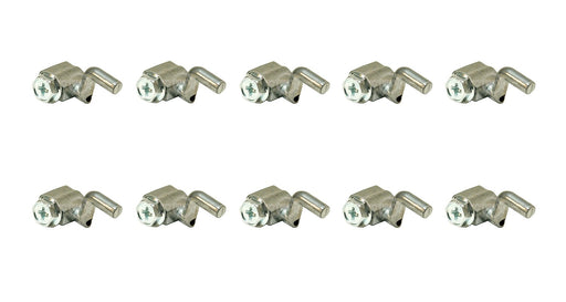 10 Pack Rotary 14819 Universal Cable Wire Stop Z Bend