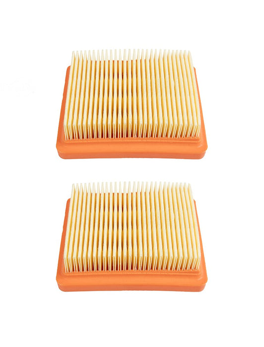 2 Pack Rotary 15855 Air Filter Panel Fits Stihl 4180-141-0300B FS111 FS131 FS91