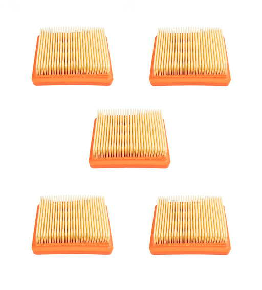 5 Pack Rotary 15855 Air Filter Panel Fits Stihl 4180-141-0300B FS111 FS131 FS91