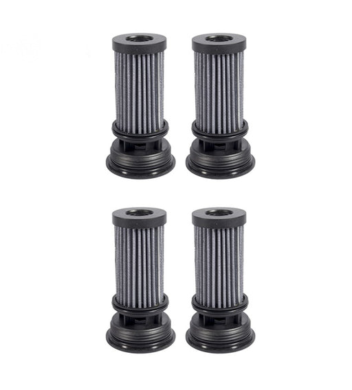 4 Pack Hydro Filter Element For Exmark Toro 116-0164 117-0390 Parker HTE HTJ HTG
