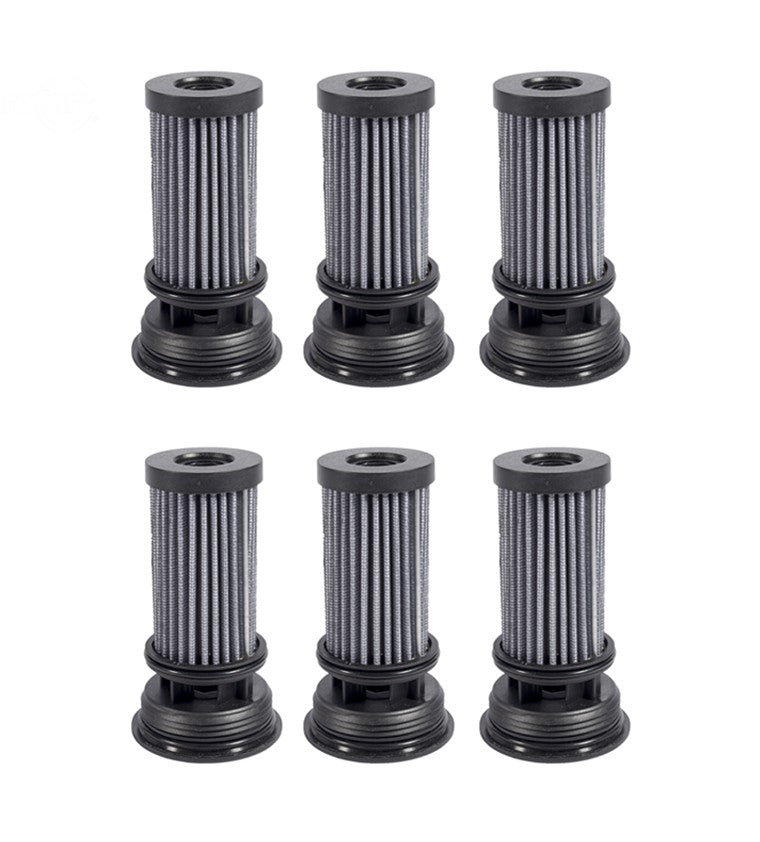 6 Pack Hydro Filter Element For Exmark Toro 116-0164 117-0390 Parker HTE HTJ HTG