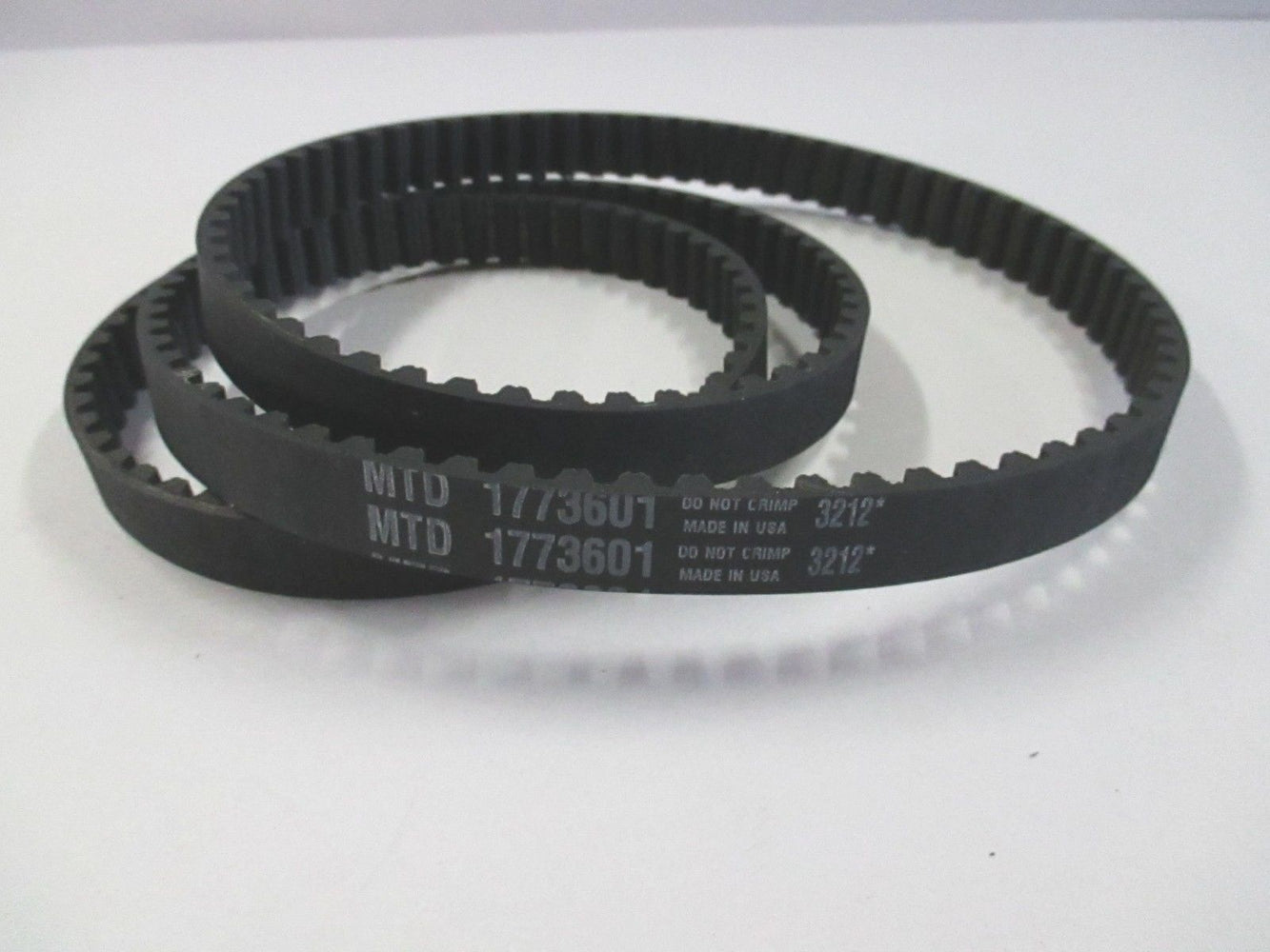 "Genuine MTD 1773601 Toothed Mower Drive Belt 38"" Replaces 1765212 GW-1773601 OEM"