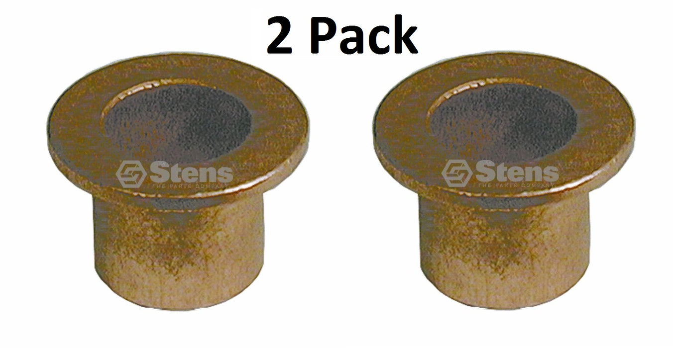 "2 Pack Stens 225-110 Flange Bushing for MTD 748-0184 ID 5/8"" OD 3/4"" Height 3/4"""