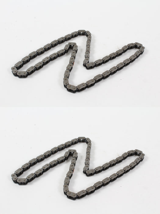 2 Pack Genuine Robin 22E-35602-01 Timing Chain CP Fits EX27 279-35602-H1