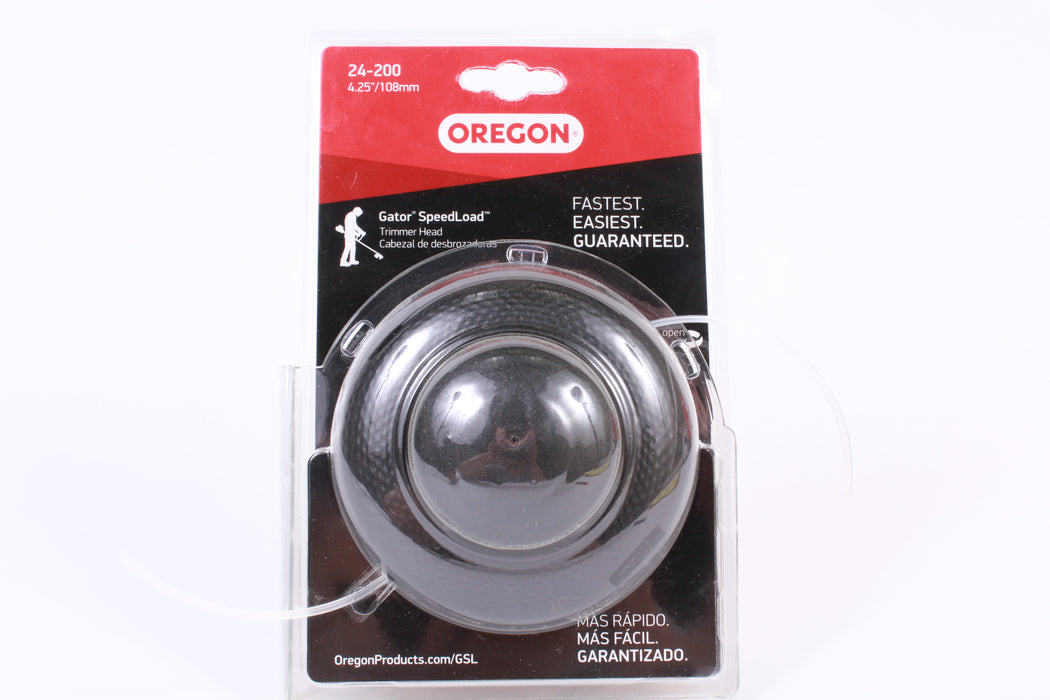 Oregon 24-200 Gator SpeedLoad Trimmer Head for Curved Shaft Trimmers Small Diam