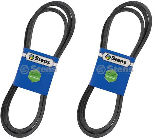 2 Pack Stens 265-833 OEM Replacement Belt Exmark 1-413093