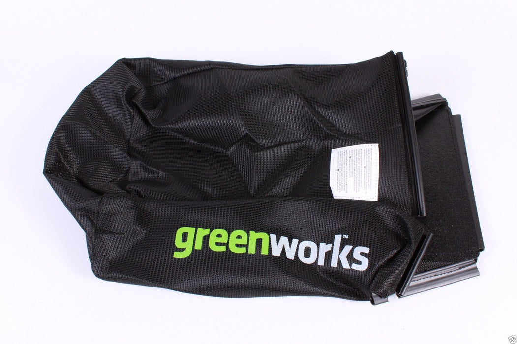 Genuine GreenWorks 31104227-2 Grass Catcher Bag Without Frame Bag ONLY for 25222