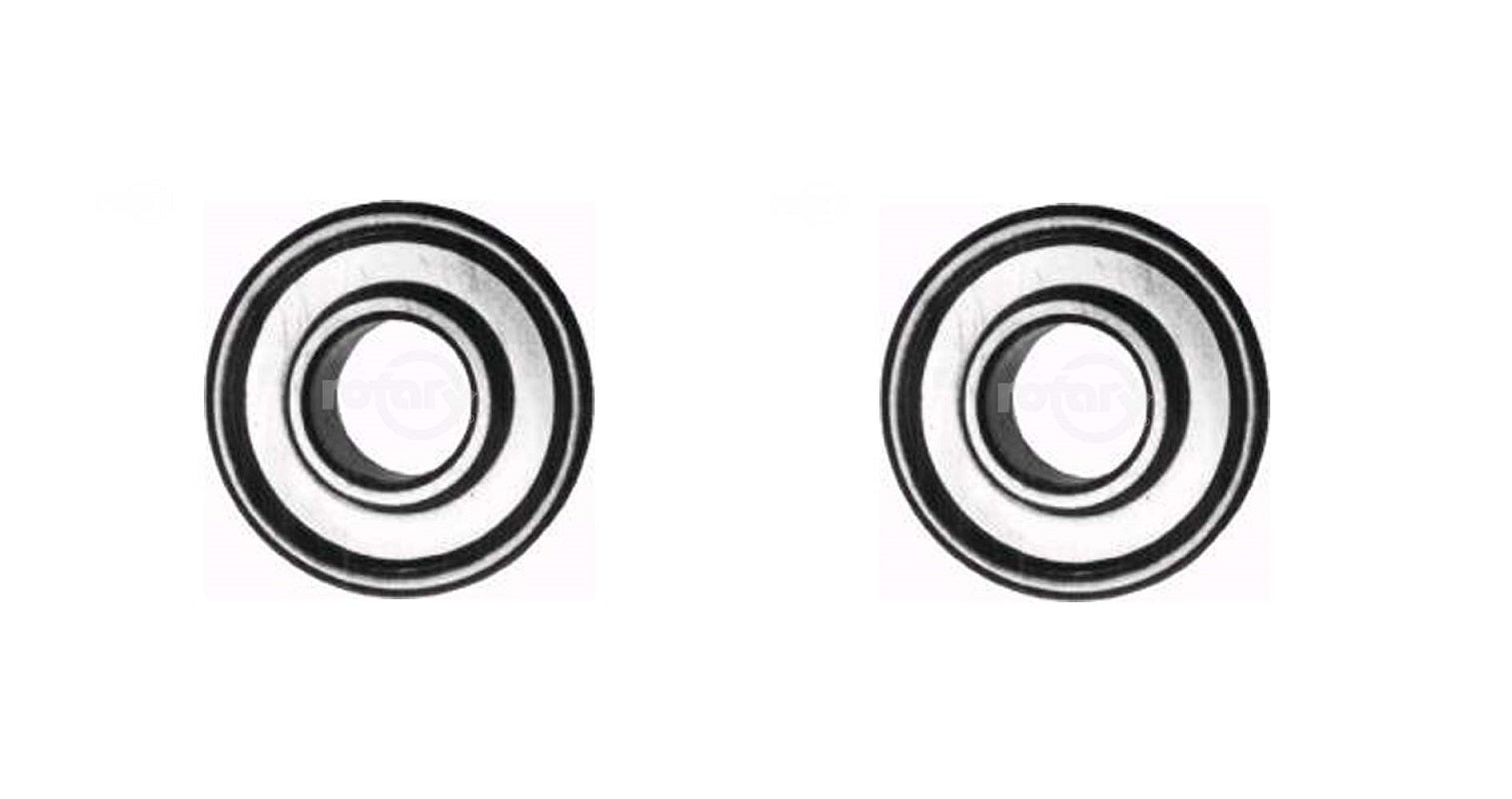 "2 Pack Rotary 324 1/2"" x 1-1/8"" Flanged Ball Bearing"