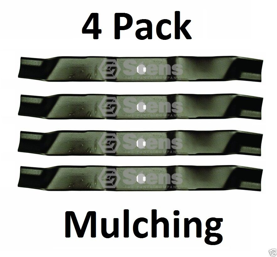 4 Pk Stens 335-054 Mulching Blade For Murray 95100E701MA 92545E701MA 2027 456252