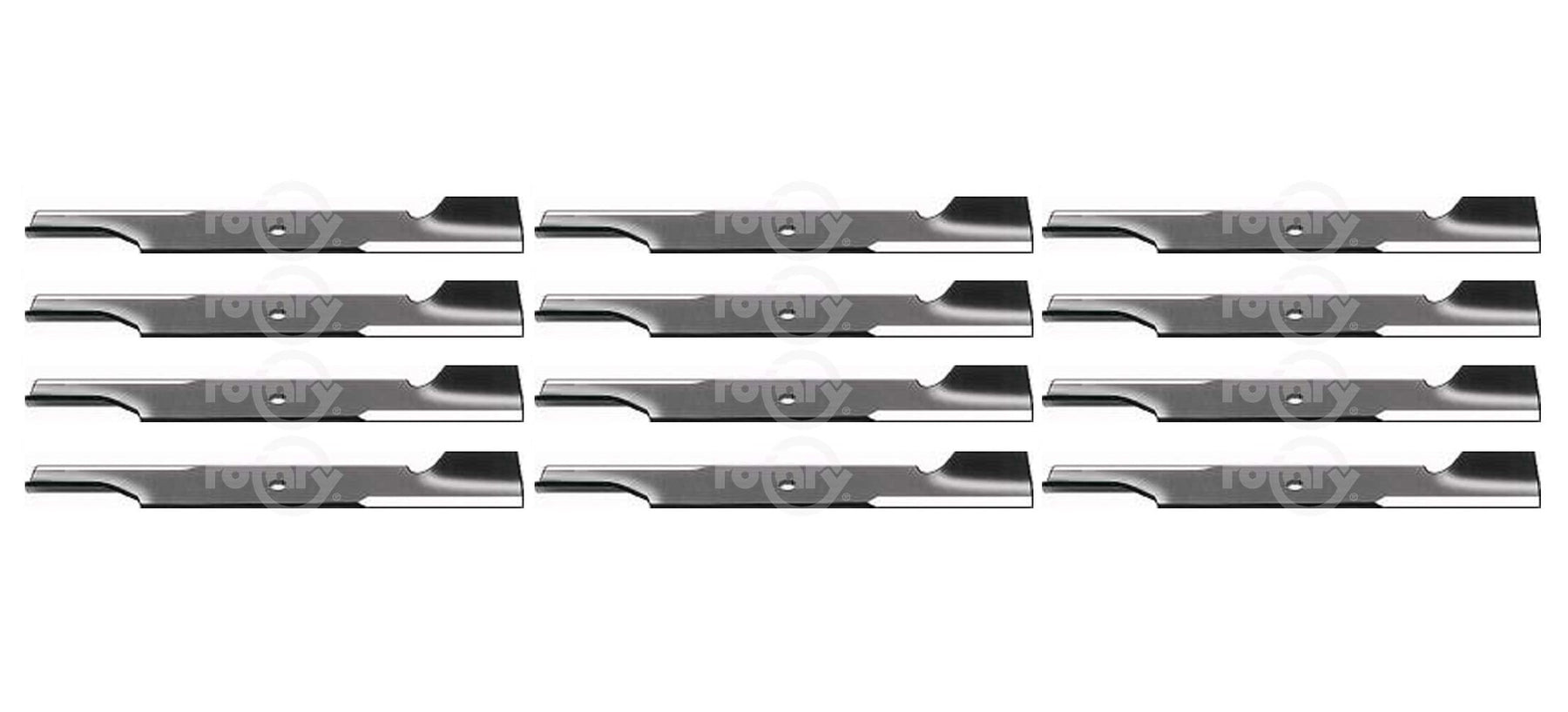 12 Pack Lawn Mower Blades Fits Bad Boy 038-5350-00