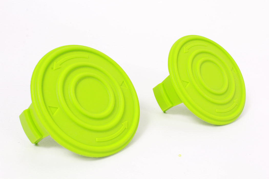 2 Pack of Genuine GreenWorks 34121186-2 String Trimmer Spool Covers