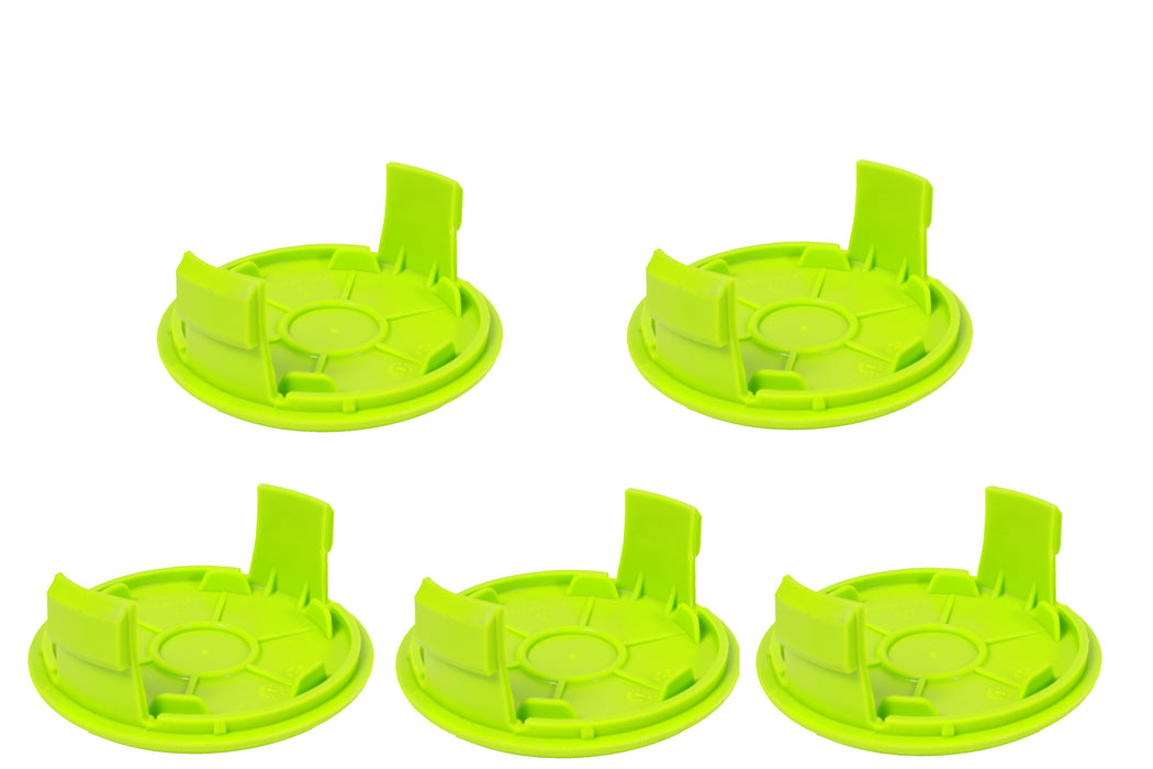 5 Pack of Genuine GreenWorks 34121186-2 String Trimmer Spool Covers