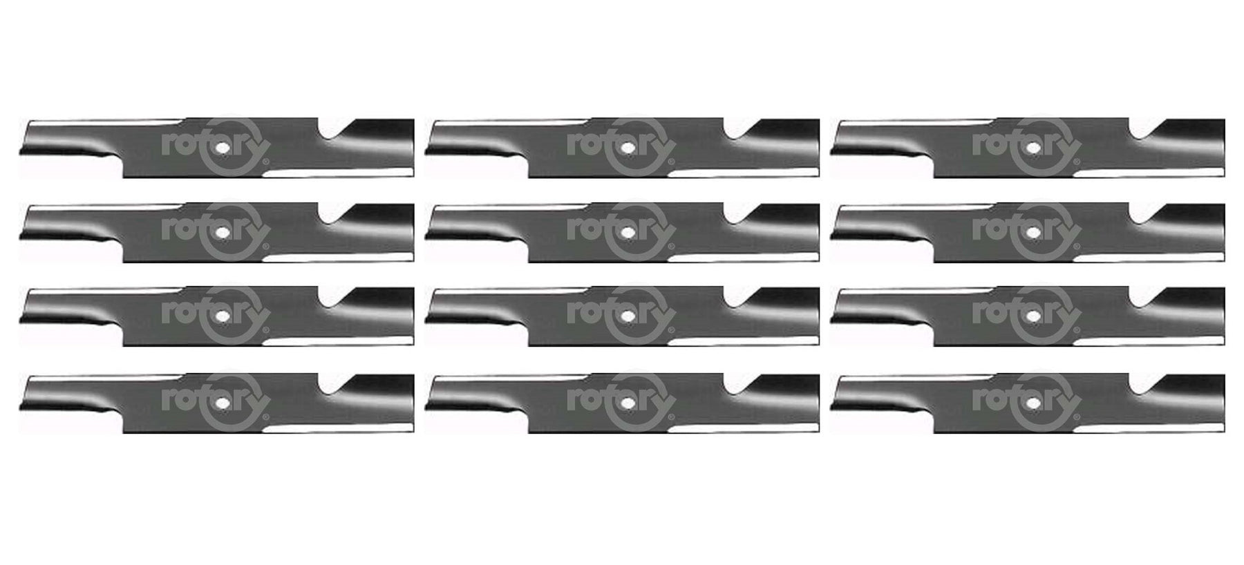 12 Pack Lawn Mower Blades Fits Gravely GDU10231 00450300