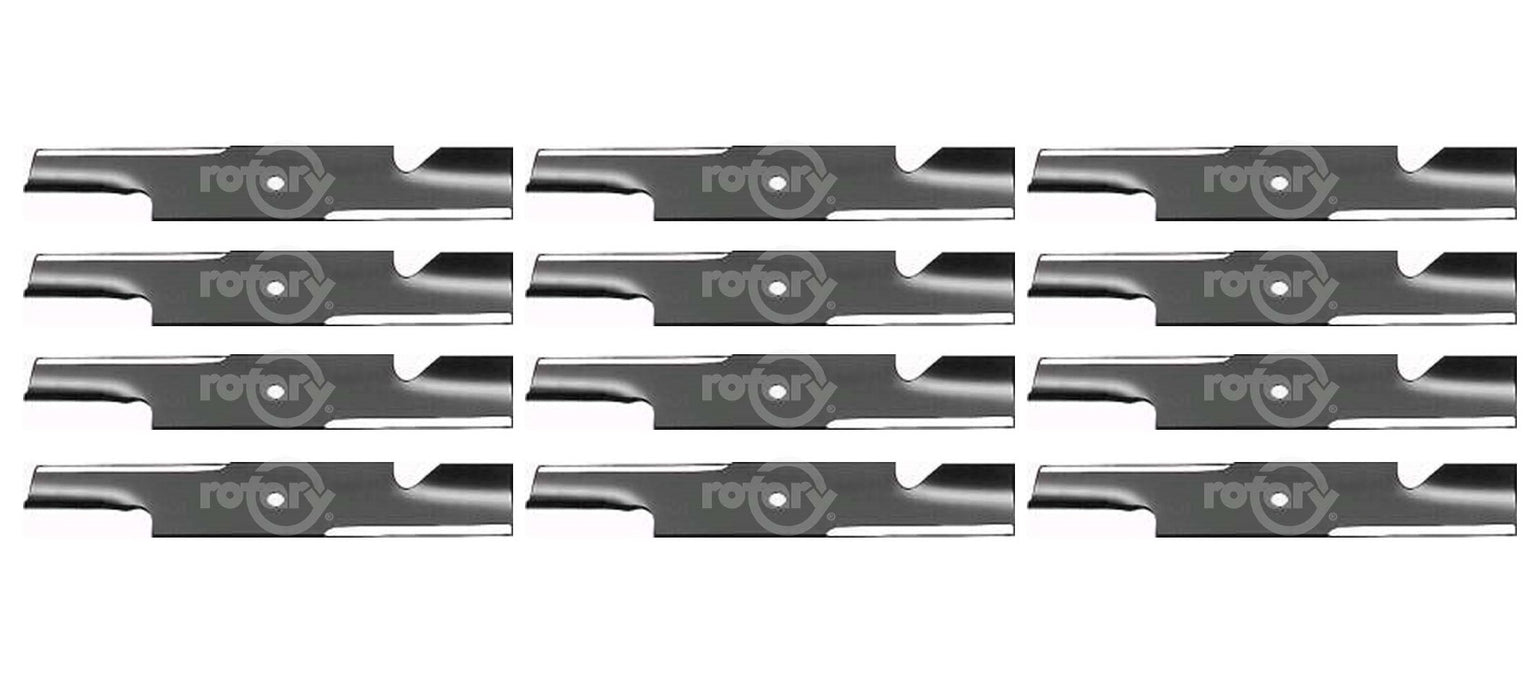 12 Pack Lawn Mower Blades Fits Windsor 50-2300