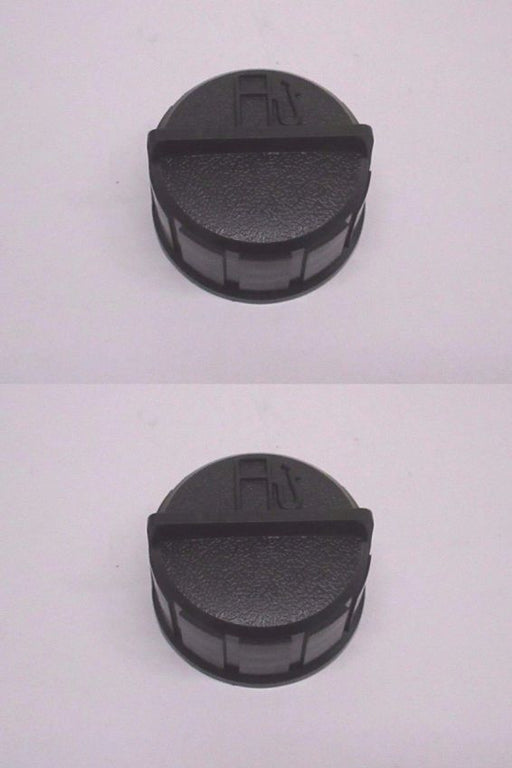 "2 Pack Genuine Tecumseh 37844 Fuel Gas Cap Universal 1-3/4"" ID Black OEM"