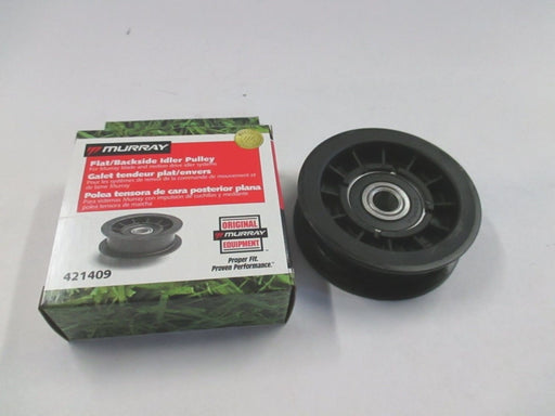 Genuine Murray 421409MA Flat Idler Pulley Replaces 421409 91179 OEM