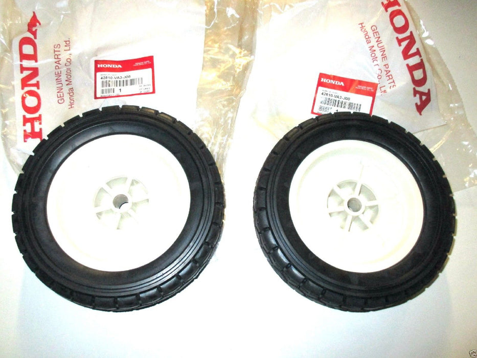"2 Pack Genuine Honda 42810-VA3-J00 Rear Wheel 8"" Fits HR215 HR216 HRA215 OEM"