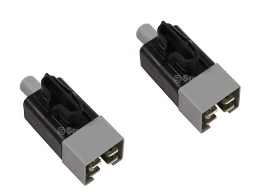 2 Pack Interlock Switch For John Deere GY20094 MTD 725-05113 Husqvarna 532197802