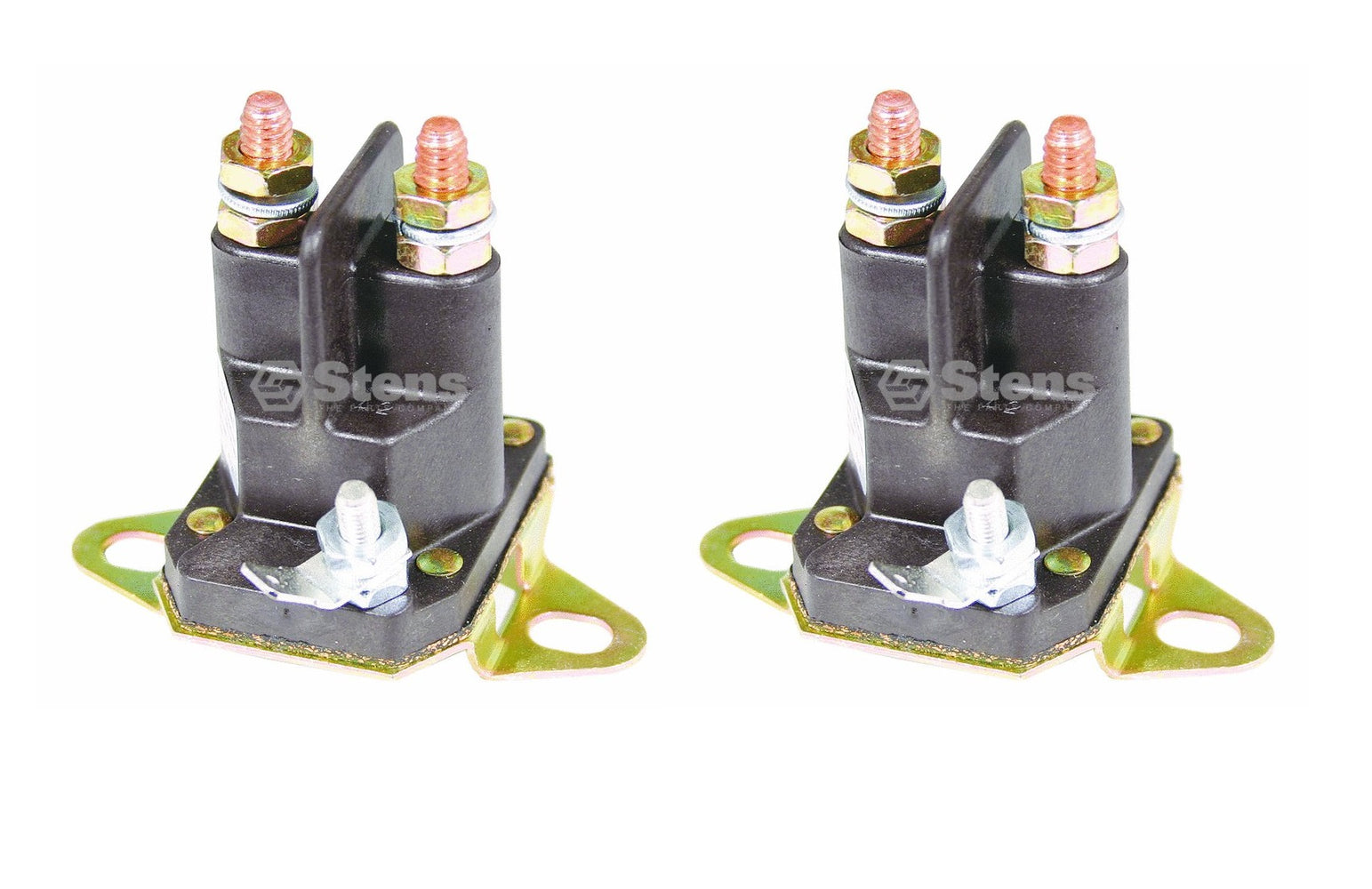 2 Pack Solenoid for Murray 424285 7701100 Toro 111674 Husqvarna 539115788 24285