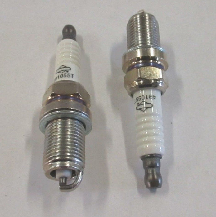 2 Pack Genuine Briggs & Stratton 491055 Spark Plug Fits Champion RC12YC OEM