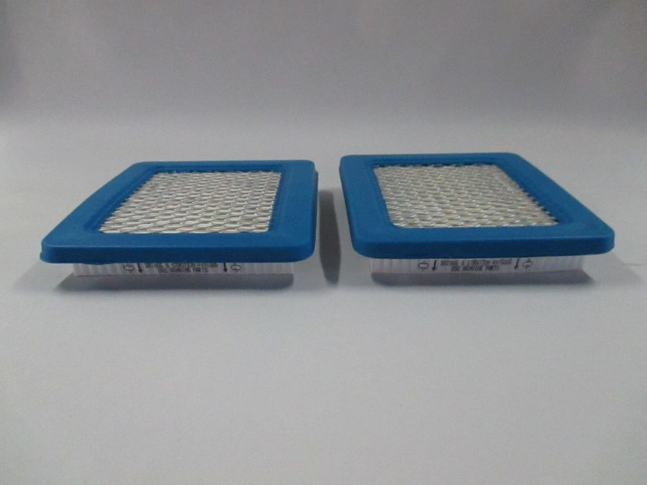 2 Pack Genuine Briggs & Stratton 491588S Air Filter Replaces 399959 OEM