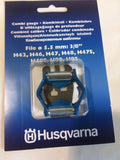 "Husqvarna 505243501 Combo Swedish Roller Guide for 3/8"" Pitch Chainsaw Chain"