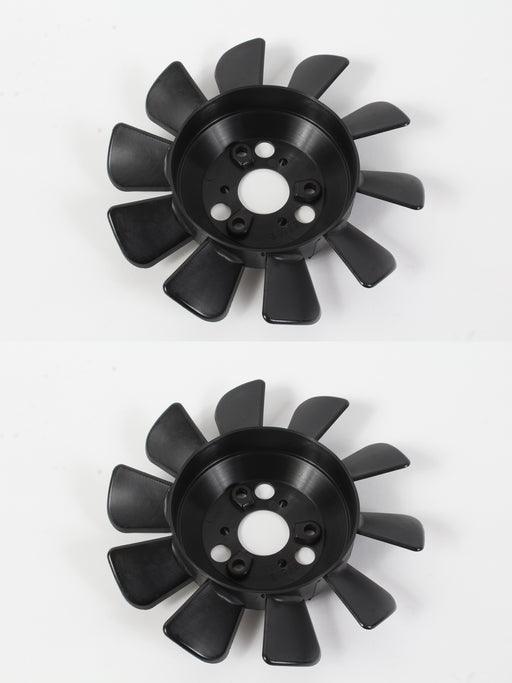 "2 Pack Genuine Hydro Gear 51362 6"" 10 Blade Transmission Fan Fits Toro 110-8566"