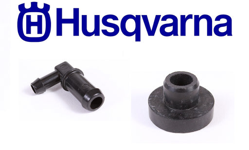 Genuine Husqvarna 532139277 Fuel Tank Stem & 532003645 Bushing Combo Set