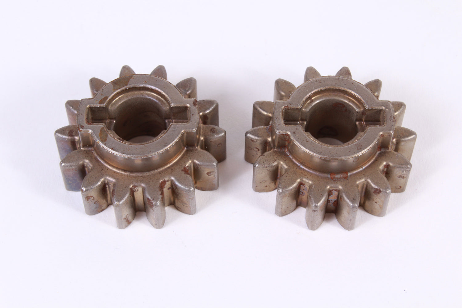2 Pack Genuine Husqvarna 532403849 14T Pinion Gear Fits AYP Craftsman Poulan