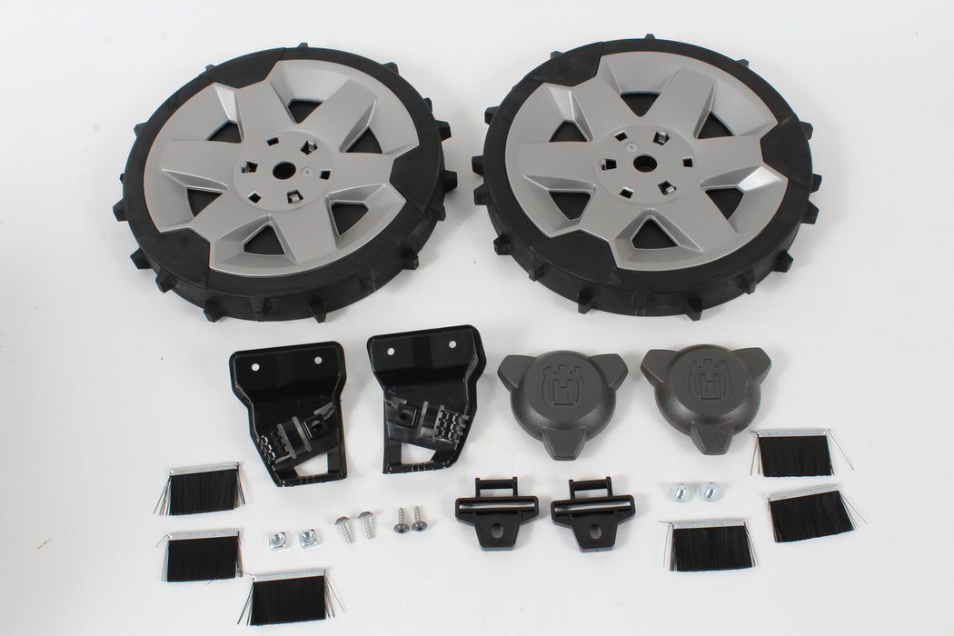 Genuine Husqvarna 581889702 Rear Wheel Kit With Brushes for Automower 430X 450X
