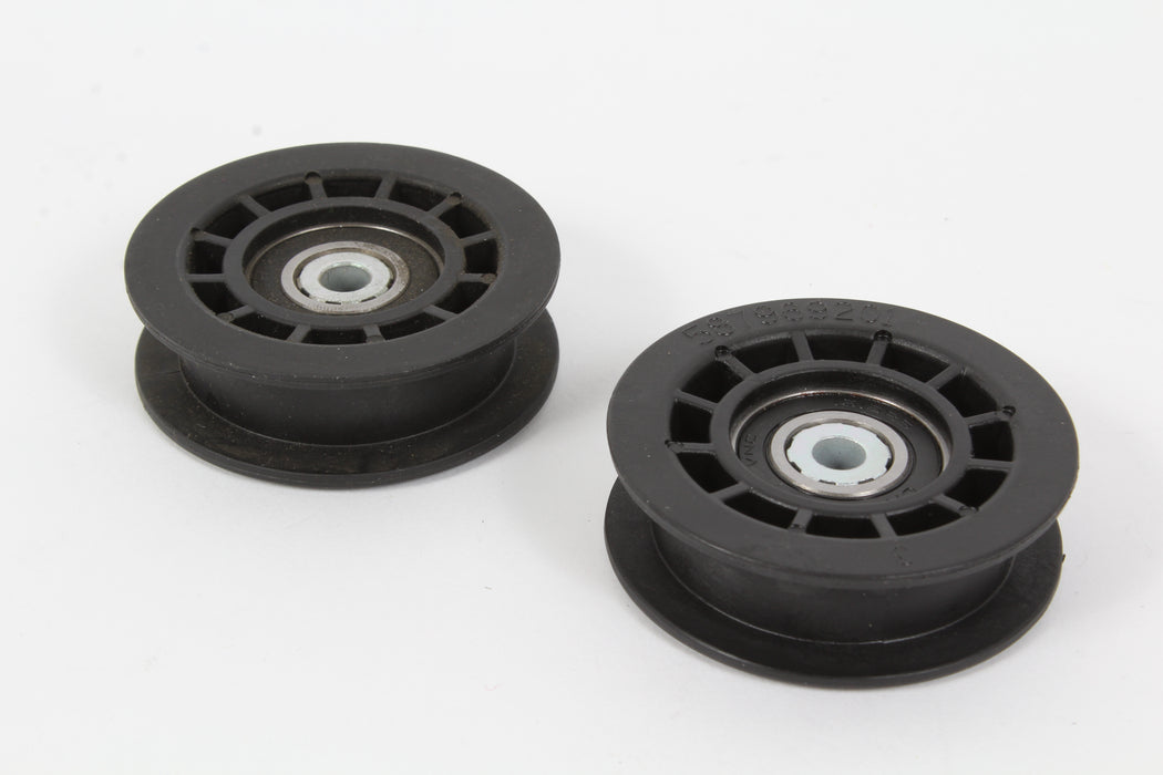 2 Pack Husqvarna 587973001 Idler Pulley For HU675AWD HU725AWD BBC HU800AWD